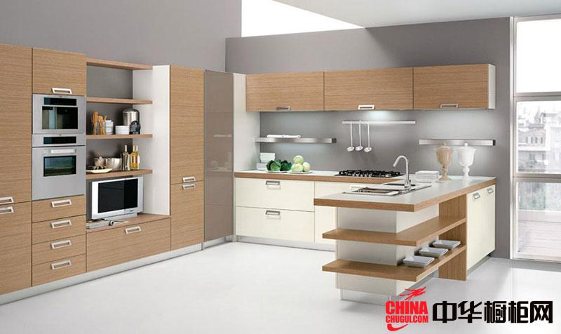 简约风格整体橱柜设计效果图 U型厨房设计效果图
