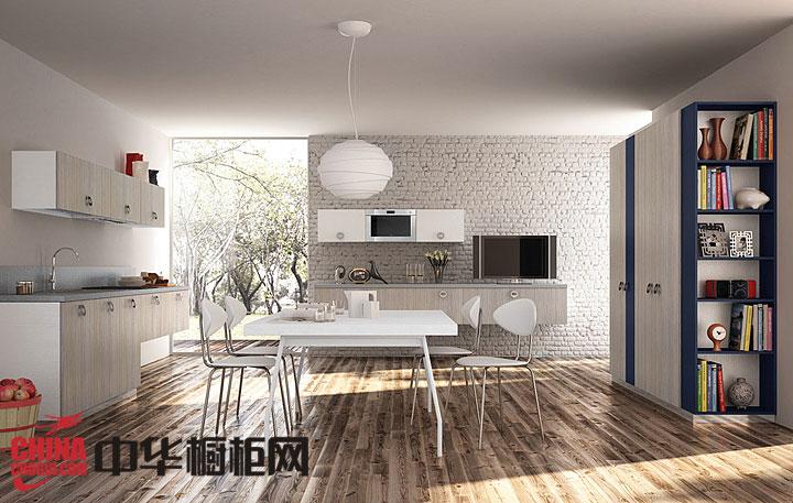 最新开放式厨房装修效果图 2013最新款整体橱柜图片