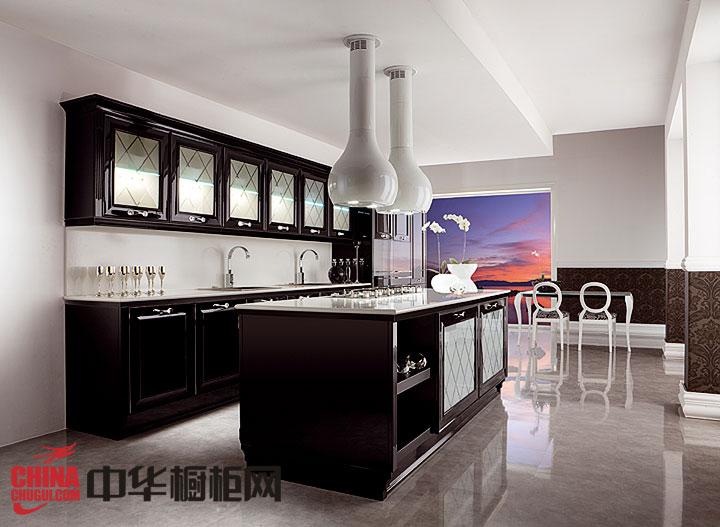 新古典风格橱柜图片 厨房装修效果图大全2013图片