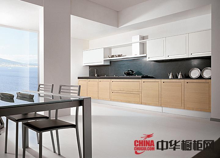 2013最新烤漆橱柜图片 厨房装修效果图