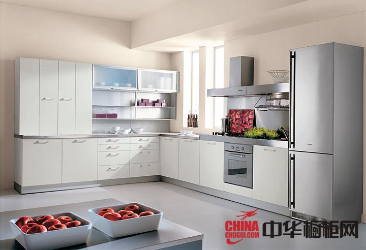 简约北欧风整体橱柜效果图 打造明亮简约厨房