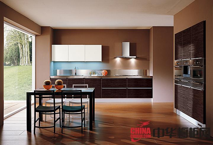 小户型厨房设计效果图 2013最新整体橱柜图片