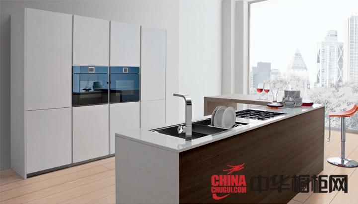 开放式厨房装修效果图 为你的空间带来简约现代美