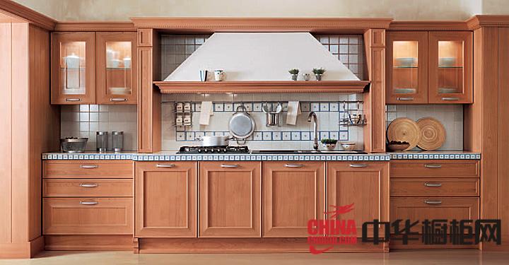田园风格厨房橱柜图片 2013最新款整体橱柜图片
