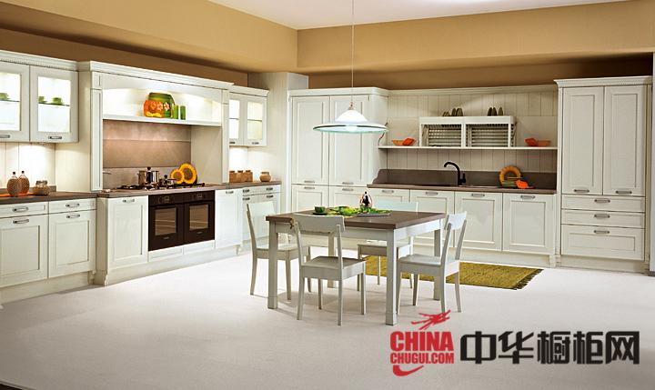 北欧风格整体橱柜设计图片 让你的厨房明亮有致