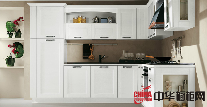 干净的整体橱柜装修效果图 厨房整体橱柜效果图