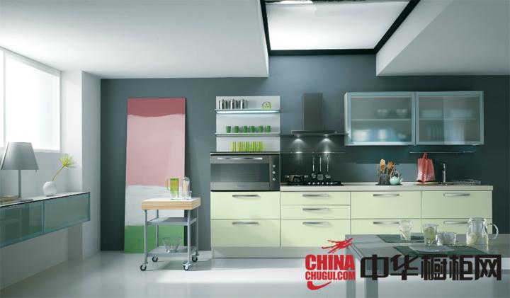小清新厨房装修效果图大全 让厨房充满勃勃生机