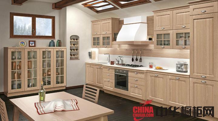 2013最新款整体橱柜图片 开放式厨房装修效果图