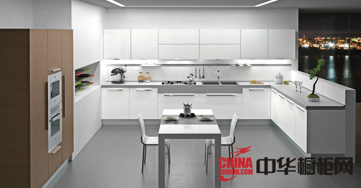 实木橱柜效果图,实木橱柜图片,厨房橱柜图片,厨房装修效果图大全2012