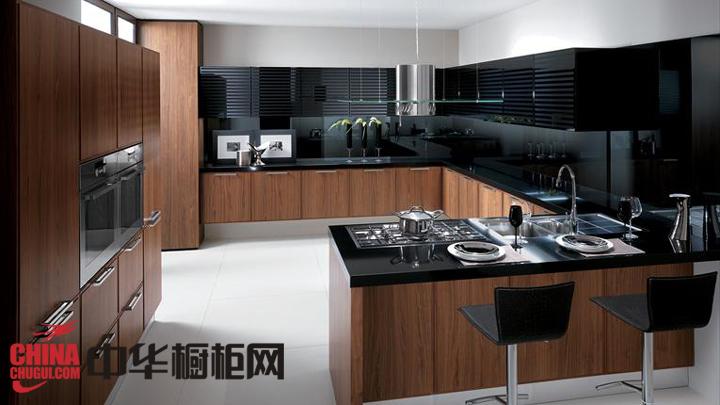 精美厨房装修设计效果图片 回归自然的色彩搭配