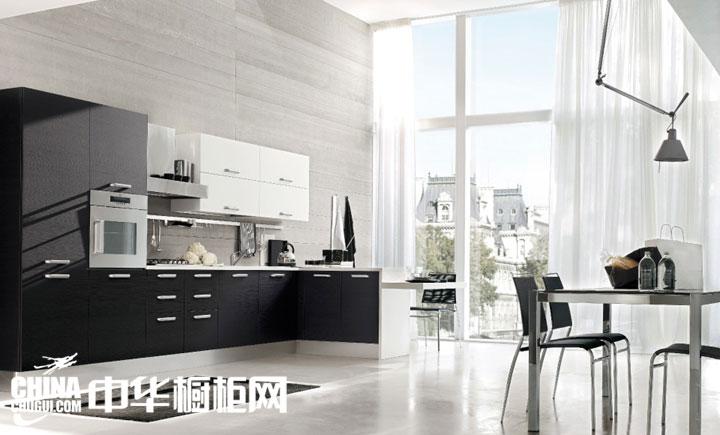l型現代簡約風格廚房裝修設計效果圖