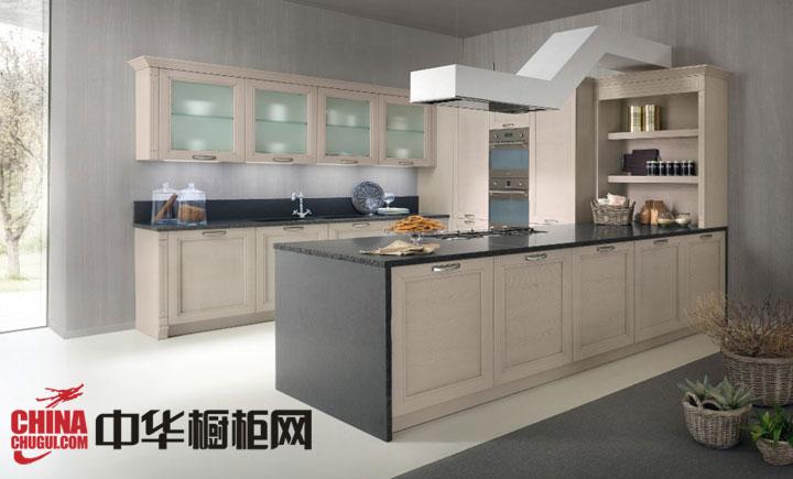 精致厨房空间 开放式厨房装修效果图