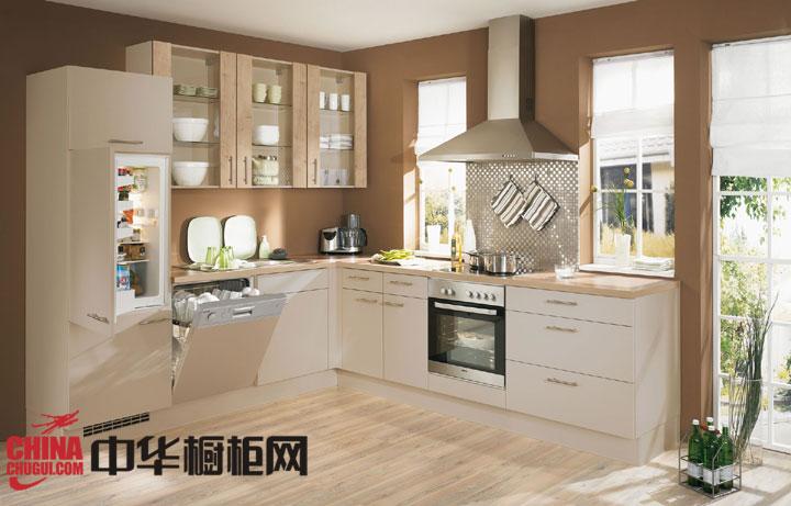 L型厨房设计效果图 小户型厨房装修的首选