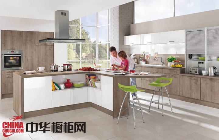 开放式厨房装修效果图 打造你别具一格的厨房生活