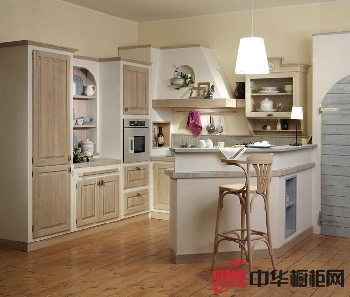 开放式厨房设计效果图 小户型厨房装修效果图
