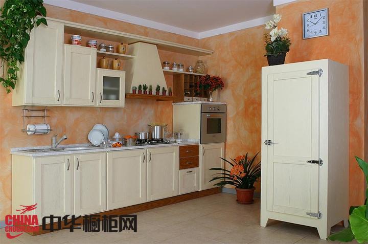 别致小户型厨房装修效果图-中华橱柜网