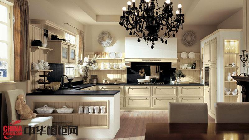 华贵欧式风格厨房装修效果图欣赏