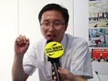 火星人无烟灶招商部部长徐巍2013上海厨卫展专访