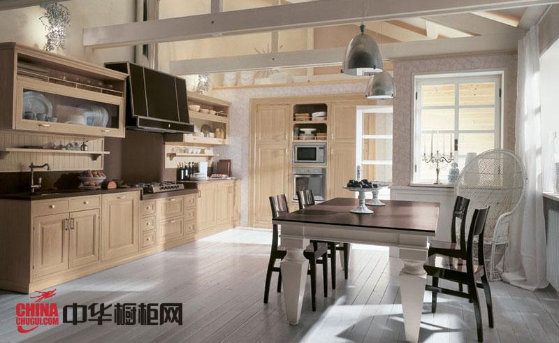 开放式厨房装修效果图大全2013图片 带给厨房魅力