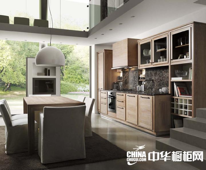 田园风格整体厨房装修效果图 汇集温馨与自在
