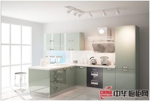 美佳厨柜:小厨房装修整体橱柜效果图推荐