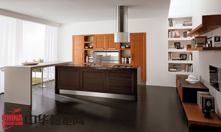 实用美观现代风格橱柜图片 让你的厨房更凸显时尚