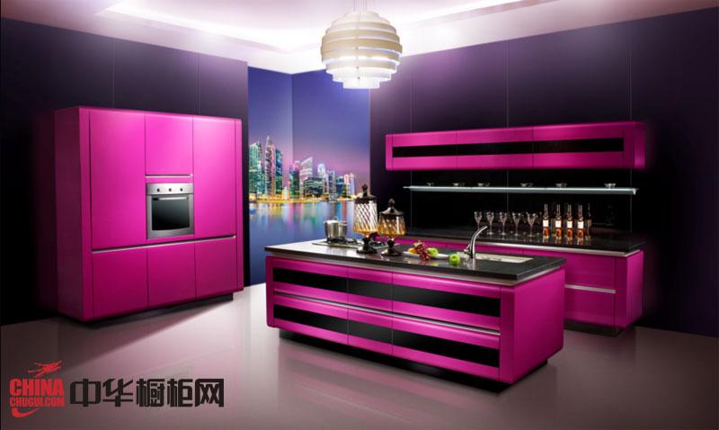 领尚惠而浦整体厨房-潘朵拉 现代厨房装修效果图欣赏