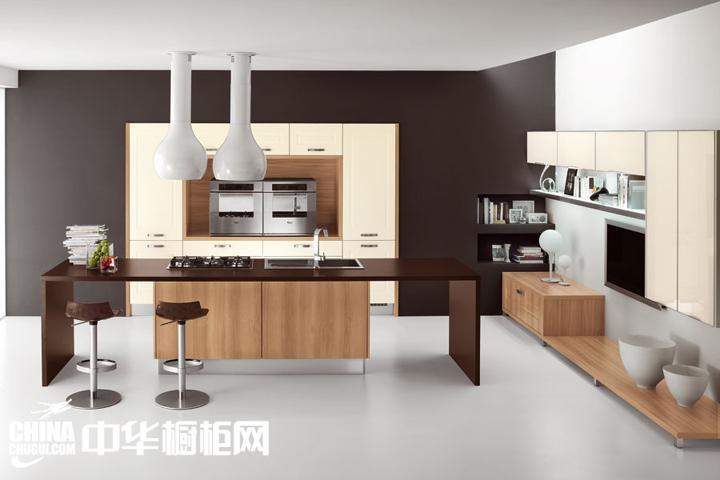 现代风格的餐厨效果图 彰显出空间美感