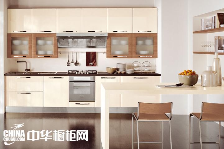 简约风格橱柜效果图 厨房也刮时尚风