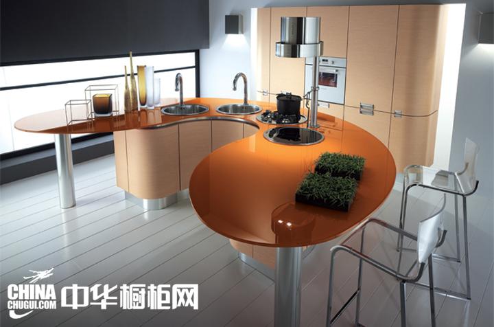现代风格橱柜图片 将最时尚的造型带进厨房