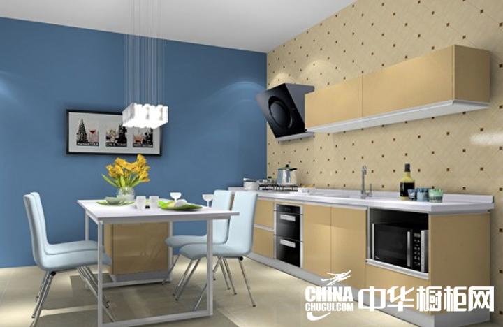 小户型开放式厨房装修效果图 装潢出创意十足的家居