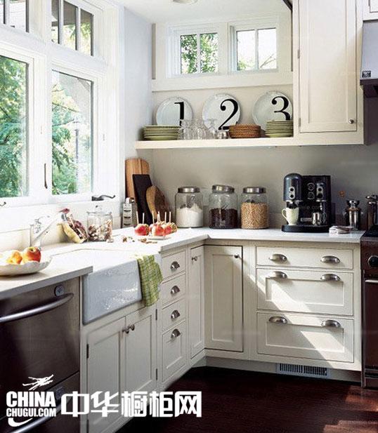 别具匠心的厨房装修效果图 让小厨房通透明亮