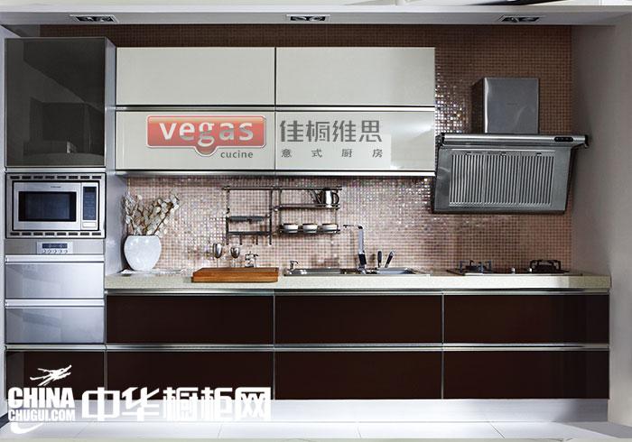 中型廚房 現代簡約風格整體櫥柜裝修效果圖