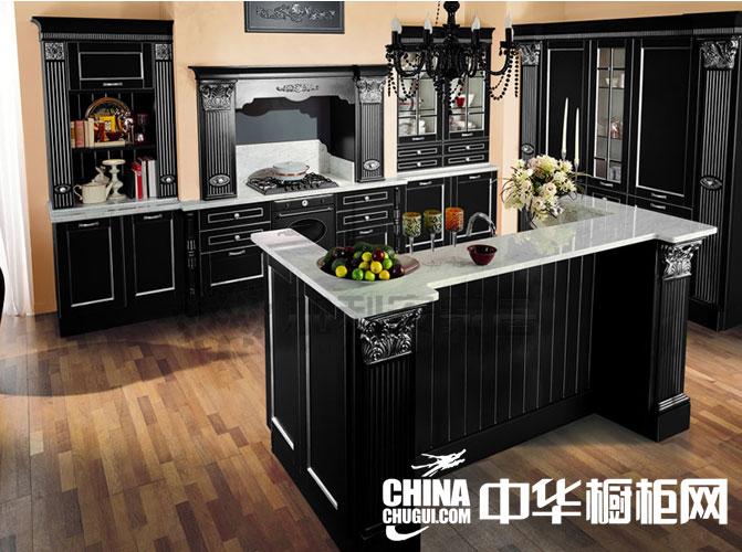 欧式风格整体橱柜图片 尽展厨房的大气奢华