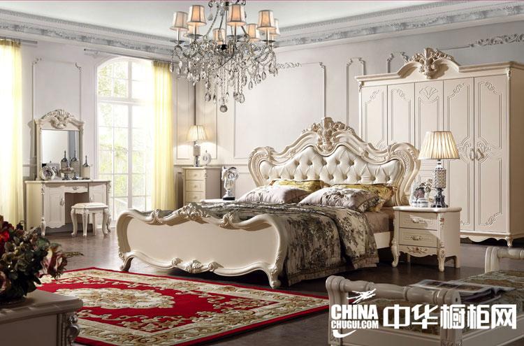 欧式整体衣柜图片 打造独具典雅韵味的华丽卧室