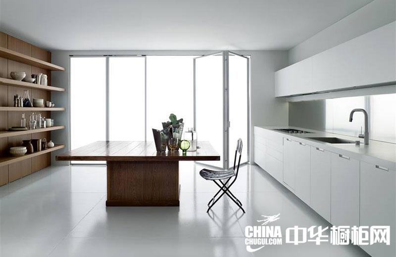 开放式厨房装修效果图 北欧风情的舒适温馨
