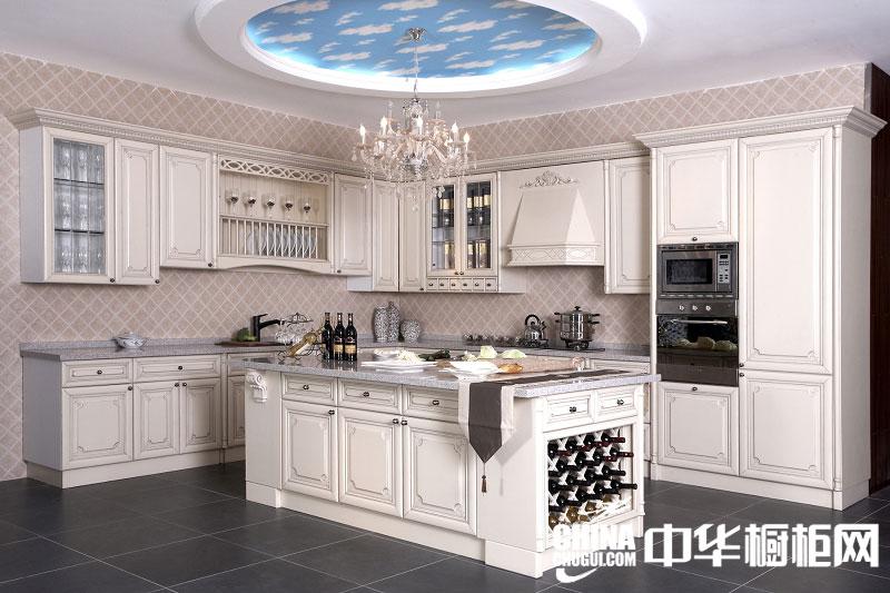 新古典整体橱柜效果图 让厨房也流露贵族气息