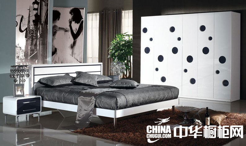 简约风格整体衣柜图片 打造明快时尚的卧室空间
