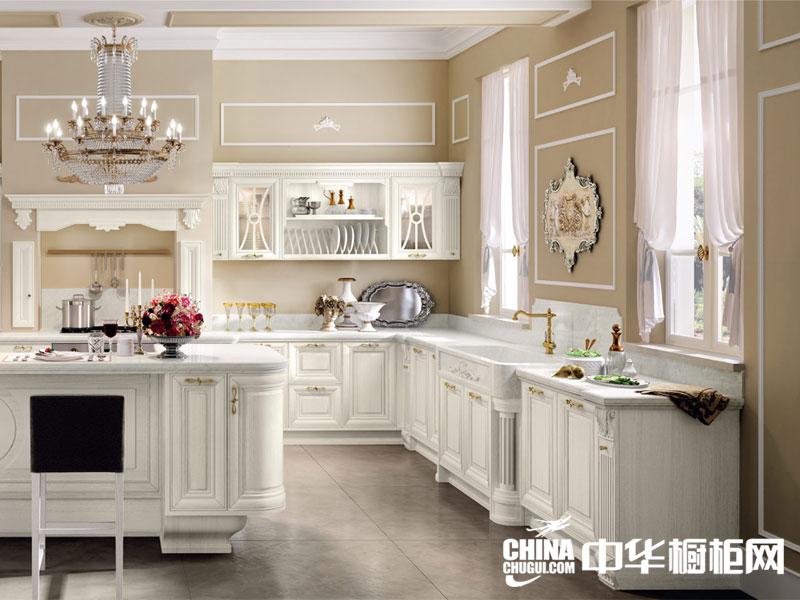 欧式风格整体橱柜效果图 还你一个柔性厨房