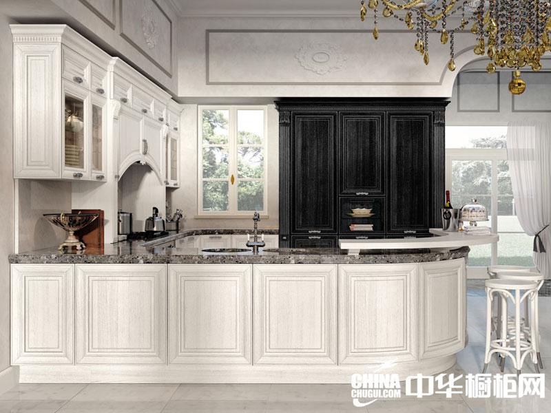 整体欧式厨房装修效果图 缔造温馨浪漫生活-中华橱柜网