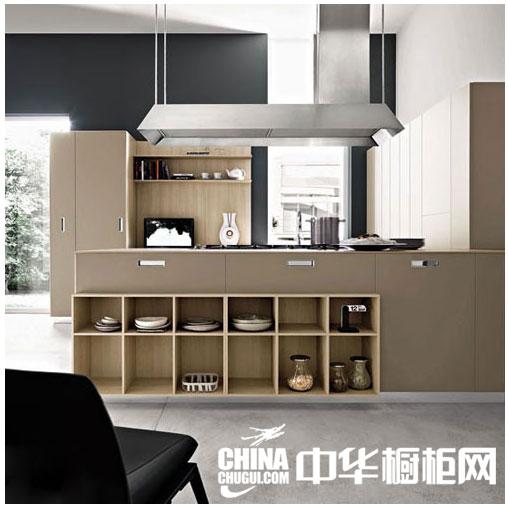 开放式简约风格整体橱柜图片 打在多姿多彩的厨房生活