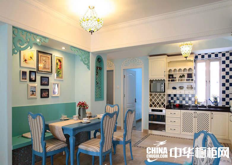 地中海风格整体橱柜效果图 让你品尝到不同的厨房风格