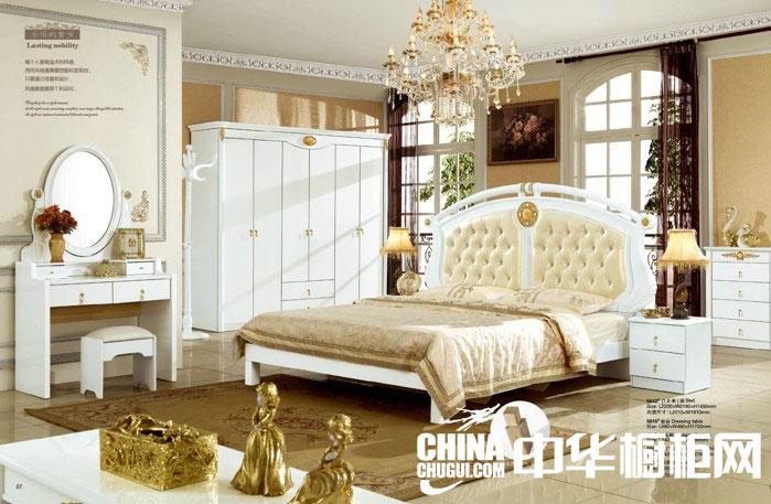 象牙白整体衣柜图片 打造奢华卧室空间