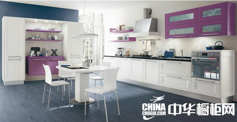 北欧风格整体橱柜效果图 让你家的厨房温馨舒适起来