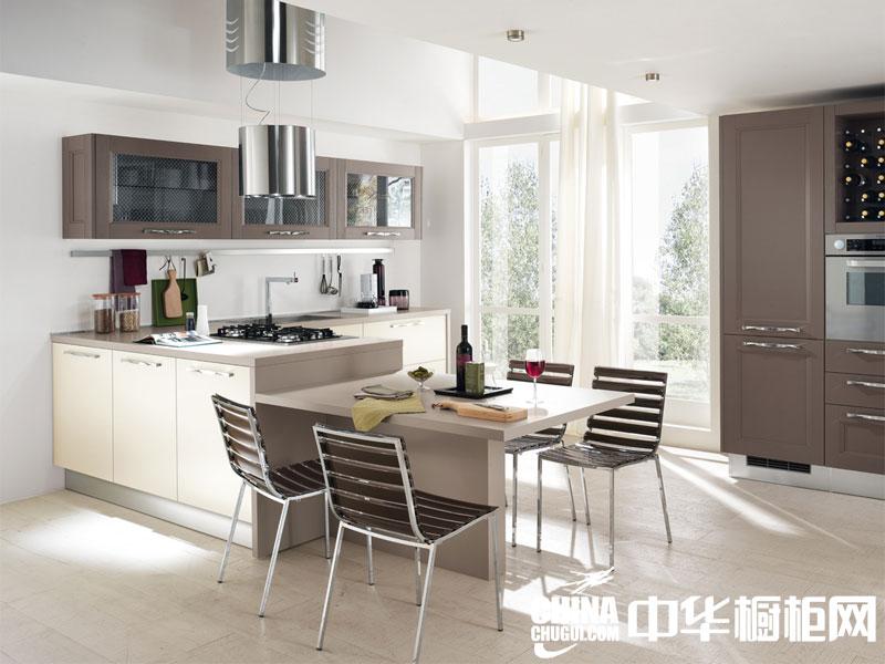 小户型厨房装修效果图 甜蜜浪漫瞬间填满小空间