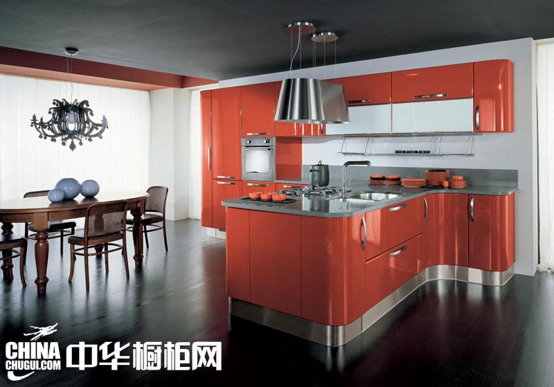 现代简约风格整体橱柜图片 为您展现不一样的厨房风采