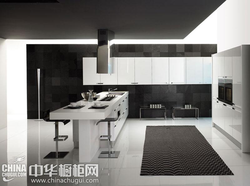 后现代整体橱柜效果图 时尚而美观的厨房装修
