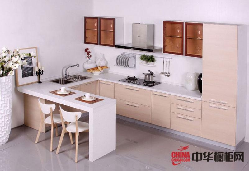 东方邦太整体橱柜效果图 简约风格厨房装修效果图