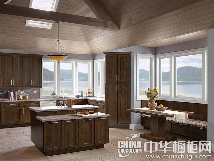 中式风格整体橱柜图片 让厨房提亮你的世界