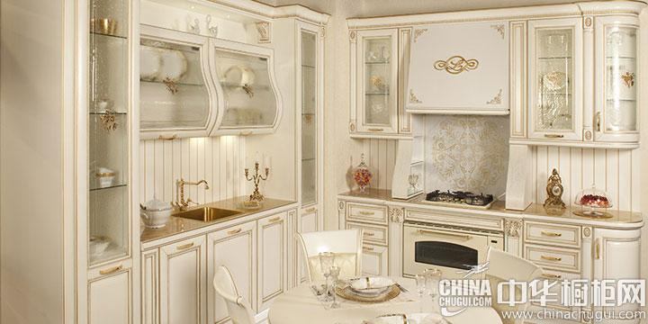 欧式风格橱柜效果图 让人沉醉的艺术美感